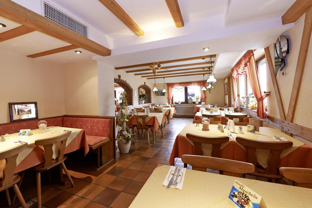 Speisesaal im hinteren Bereich