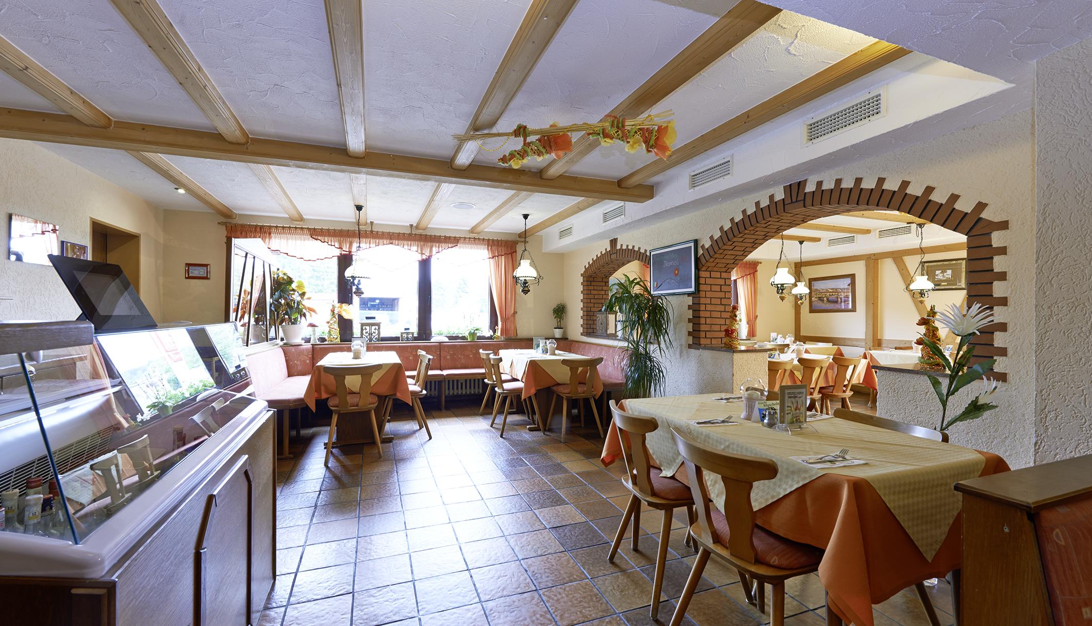 Speisesaal im Eingangsbereich